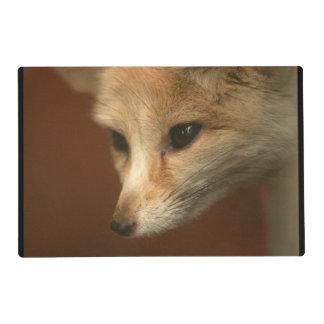 Foxy Fox Laminated Place Mat