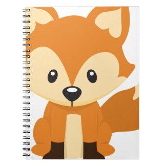 Foxy fox notebook