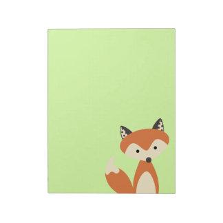 Foxy Fox Notepad