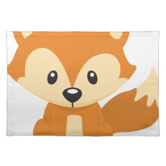 Foxy fox placemats