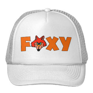 Foxy Fox Trucker Hat