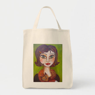 Foxy Girl Tote Bag