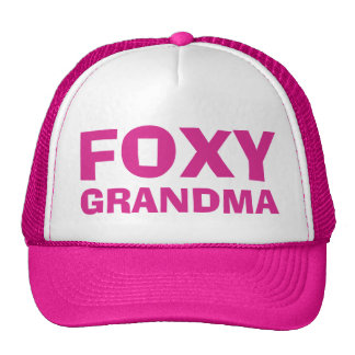 Foxy Grandma Hats