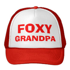 Foxy Grandpa Hat at Zazzle