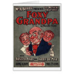 Foxy Grandpa notecard