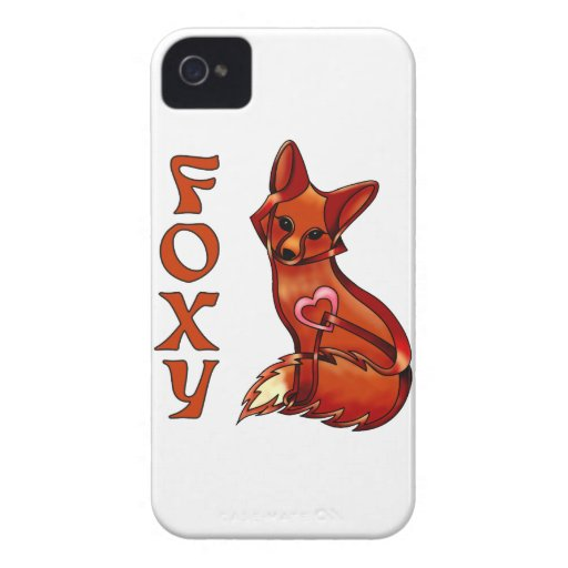 Foxy iPhone 4 Case-Mate Cases
