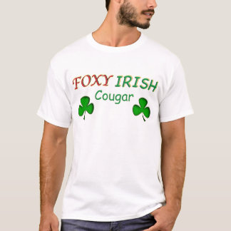 Foxy Irish Cougar T-Shirt