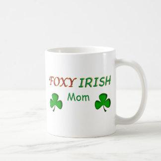 Foxy Irish Mom Coffee Mug