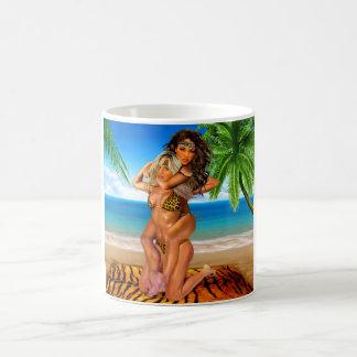Foxy Jungle Wrestlers Coffee Mug