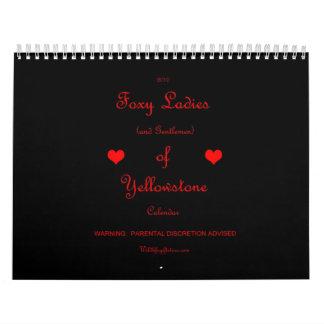 Foxy Ladies (and Gentlemen) Calendar