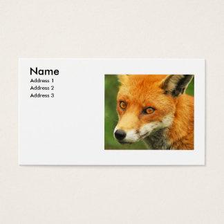 Foxy Lady Business Card
