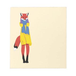 Foxy Lady Memo Notepad