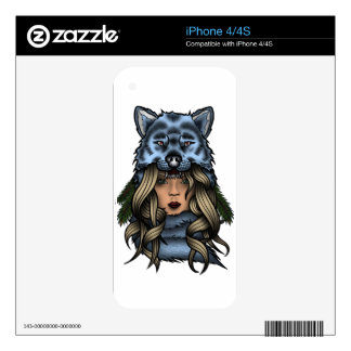 Foxy Lady iPhone 4S Decals