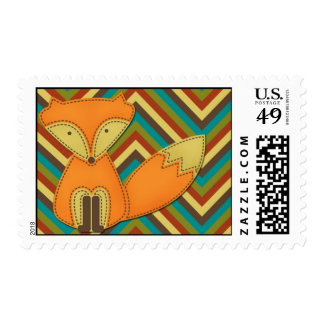 Foxy Large Postage Stamp by Saraink