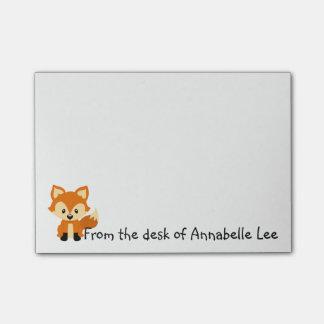 Foxy Little Friend Post-it Notes