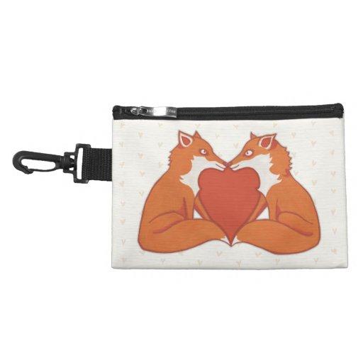 Foxy Love brown Clip On Accessory Bag