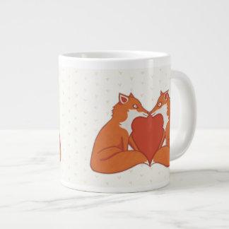 Foxy Love brown Jumbo Mug
