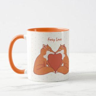 Foxy Love brown Mug