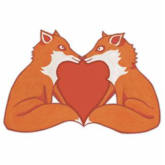 Foxy Love brown Photo Sculpture
