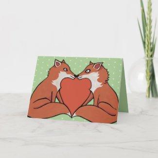 Foxy Love Card