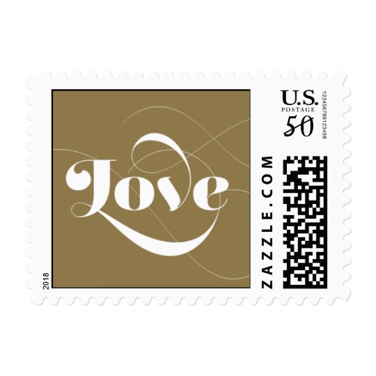Foxy - Love - Gold Postage