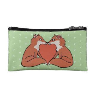 Foxy Love Small Cosmetic Bag