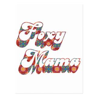 Foxy Mama Postcard