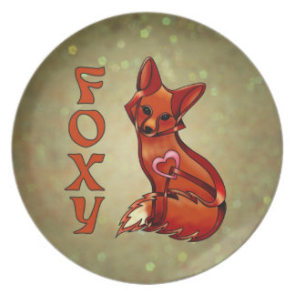 Foxy Party Plates