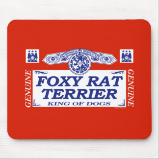 Foxy Rat Terrier Mouse Pad