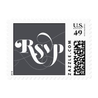 Foxy - RSVP - Gray Postage