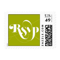 Foxy - RSVP - Green Postage