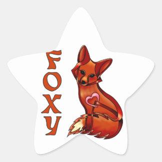 Foxy Star Sticker