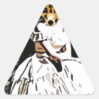 Foxy Triangle Sticker