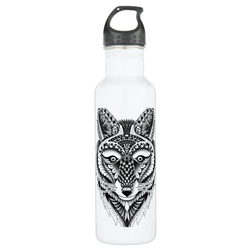 Foxy Wolf Stainless Steel Water Bottle
