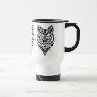 Foxy Wolf Travel Mug
