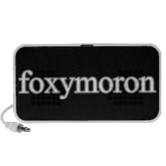 """Foxymoron"" Play on words Mp3 Speaker"