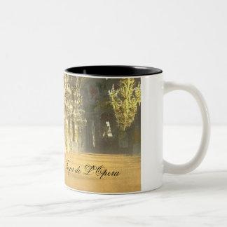 Foyer de L'Opera Two-Tone Coffee Mug