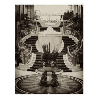 Foyer, Langham Hotel, Melbourne Postcard