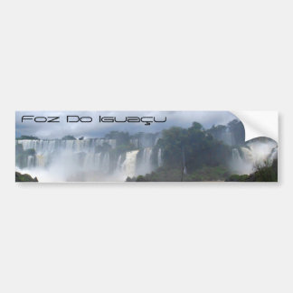 Foz Do Iguaçu Bumper Sticker