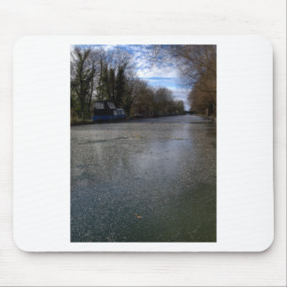 Fozen Canal Mouse Pad