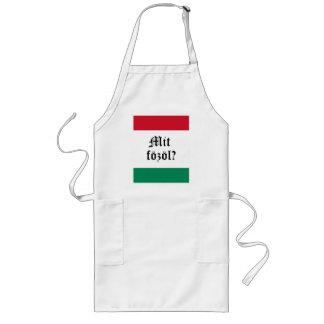 """""""Fozol húngaro del Mit?"""" (Qué está cocinando?) del Delantal Largo"""