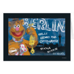 Fozzie Bear - Berlin, Germany Poster Greeting Card