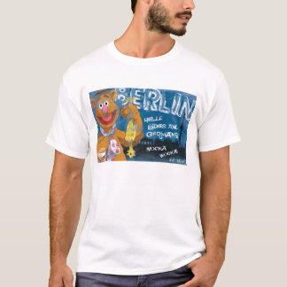 Fozzie Bear - Berlin, Germany Poster T-Shirt