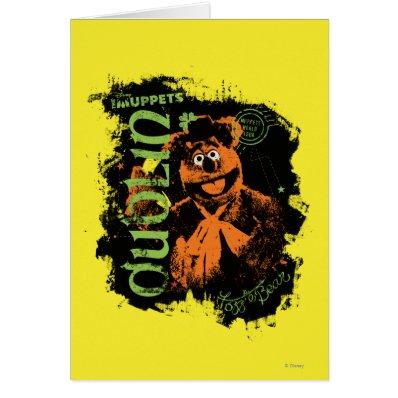Fozzie Bear - Dublin Card