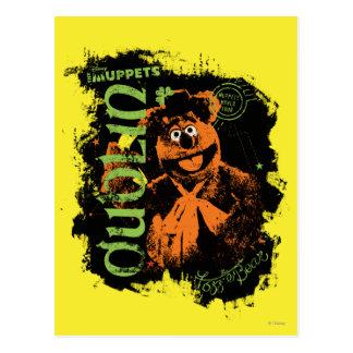 Fozzie Bear - Dublin Postcard