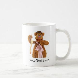 Fozzie Bear holding a rubber chicken Classic White Coffee Mug