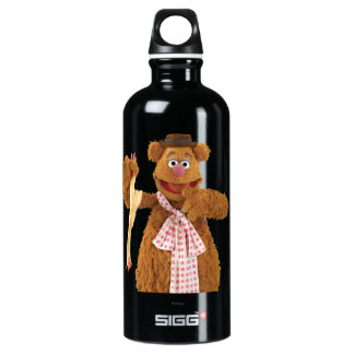 Fozzie Bear holding a rubber chicken Water Bottle