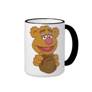 Fozzie Bear Holding Disney Ringer Mug