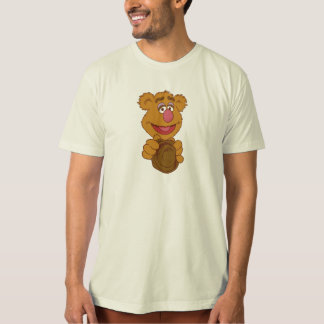 Fozzie Bear Holding Disney T-Shirt