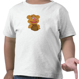 Fozzie Bear Holding Disney Tshirts
